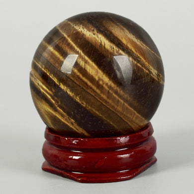 Natural Tiger Eye Crystal Sphere 40mm