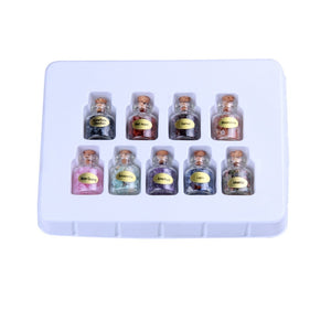 Natural Crystal Mini Bottles (9pcs)