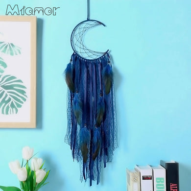 Half-moon Handmade Dreamcatcher
