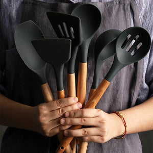 Silicone Heat-resistant Non-stick Cooking Tools