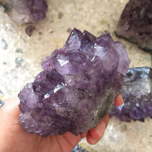 Load image into Gallery viewer, Natural Dream Amethyst Crystal Cluster 250-300g or 350-400