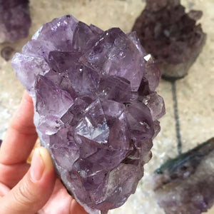 Natural Dream Amethyst Crystal Cluster 250-300g or 350-400