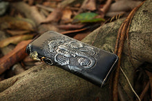 Load image into Gallery viewer, Men's Leather Ganesh Elephant Wallet