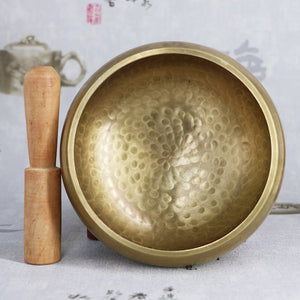 Tibetan Copper Meditation Singing Bowl