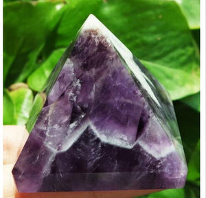Natural Dream Amethyst  Crystal Pyramid