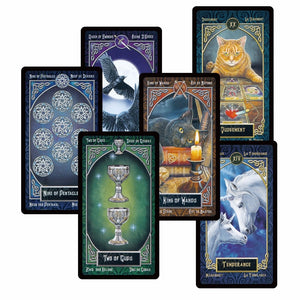 Artisan Tarot Cards (English, Spanish, French, German)