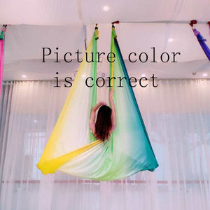 Multi-color Aerial Anti-gravity Yoga Hammock Swing