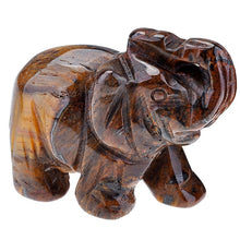 Load image into Gallery viewer, Hand Carved Natural Stone  Elephant Totem