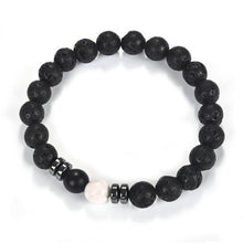 Load image into Gallery viewer, 0.3 inch Beads Natural Stone Bracelets For Men