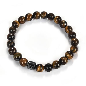 0.3 inch Beads Natural Stone Bracelets For Men