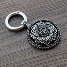 Load image into Gallery viewer, Mandala Keychain