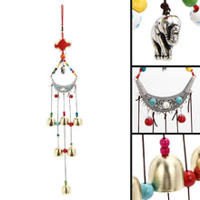 Load image into Gallery viewer, Lucky Elephant Wind Chimes with Copper Bells