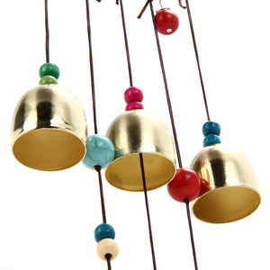 Lucky Elephant Wind Chimes with Copper Bells