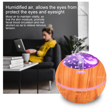 Load image into Gallery viewer, 150ml LED Light Ultrasonic Air Humidifier Mist Maker Aroma Diffuser
