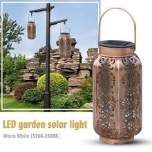 Load image into Gallery viewer, Moroccan Style Solar Hanging Garden LED Light