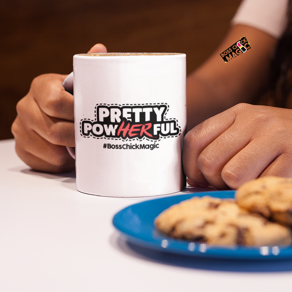 Pretty PowHERful - Mug