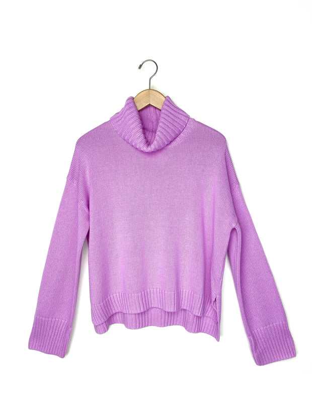 long sleeve turtle neck sweater