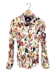 tuscan floral blouse