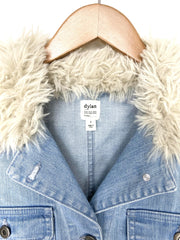 tucker jacket with sherpa collar