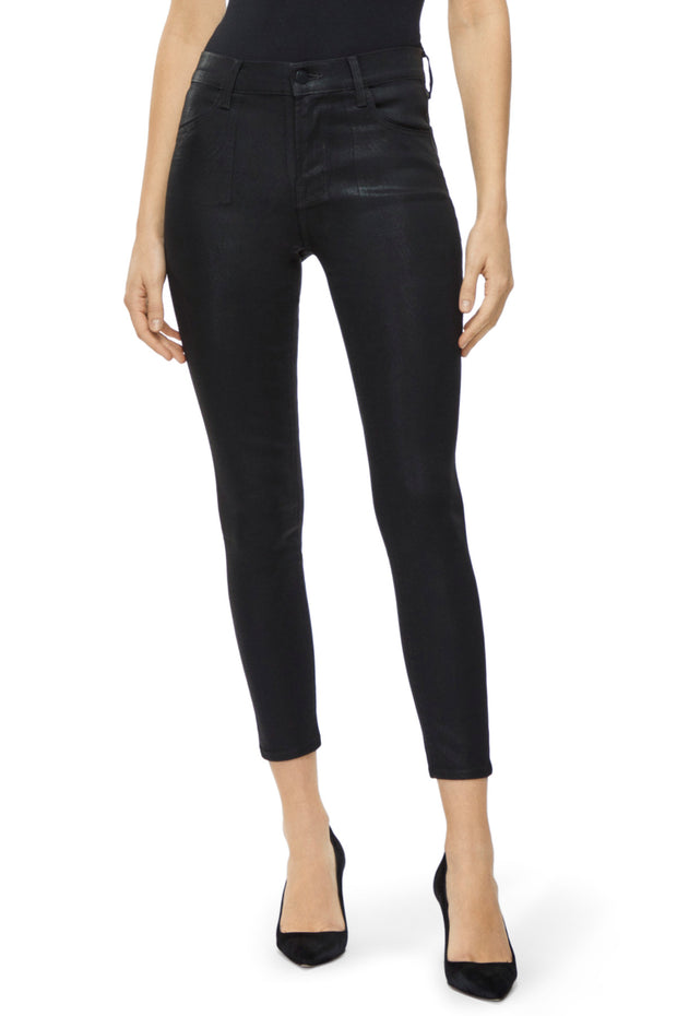 alana WAXED high-rise cropped skinny