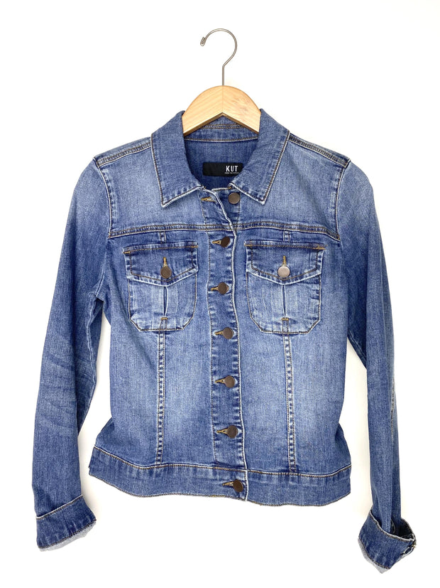 amelia denim jacket - empathetic