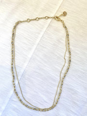 crystal delicate necklace
