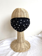 adult mask - polka dot print