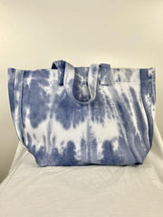 large slouchy tie dye tote