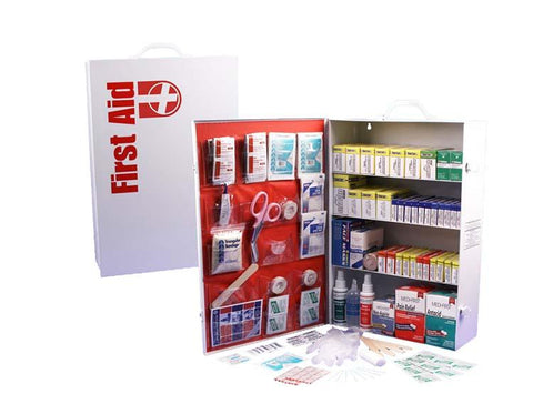4-Shelf First Aid Cabinet