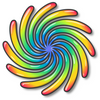 trippystore psychedelic spiral logo