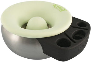Ashtrays glow in the dark Kind Cache - Silicone and Stainless Steel - Ashtray 007298