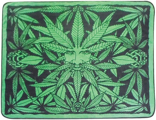 Blankets Ganja Man - fleece Blanket 008286