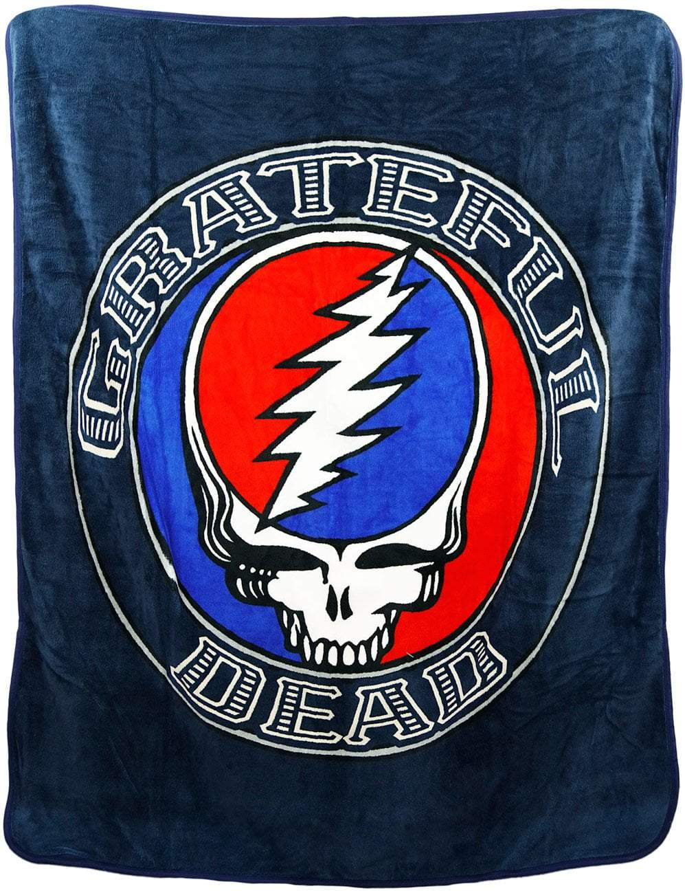 Blankets Grateful Dead - Steal Your Face - Blue - Blanket 008376