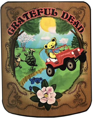 Blankets Grateful Dead - Sugar Magnolia - Fleece Blanket 100639