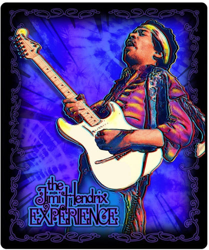 Blankets Jimi Hendrix - Guitar Solo In Concert - Fleece Blanket 100242