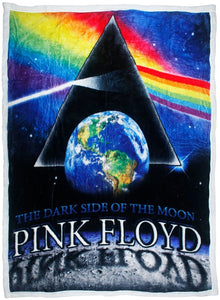 Blankets Pink Floyd - Moon View - Fleece Blanket 100035