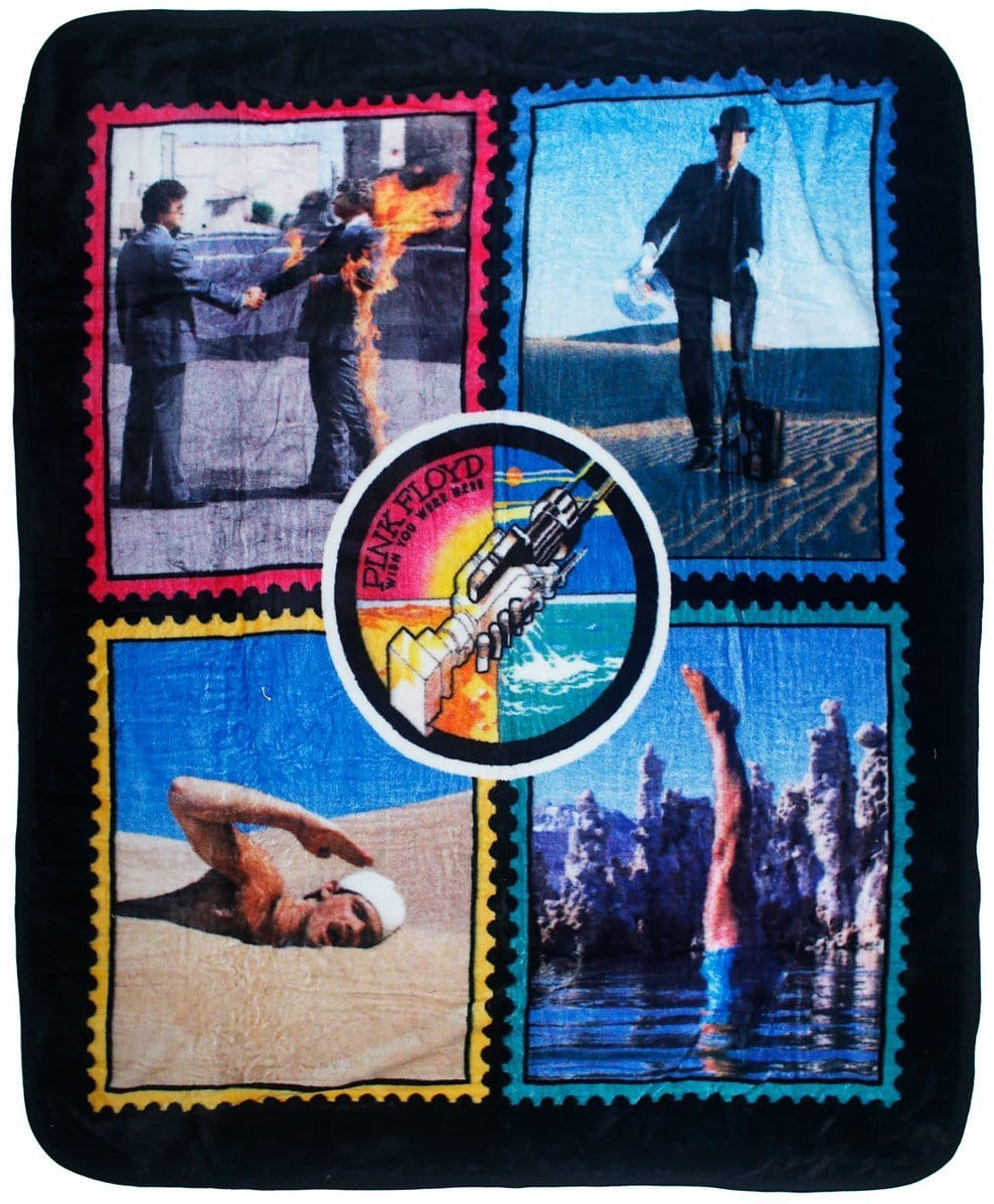 Blankets Pink Floyd - Wish You Were Here - Fleece Blanket 100036