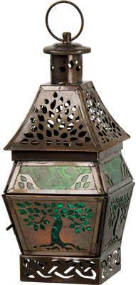 Candles Tree of Life - Green - Candle Holder 006831