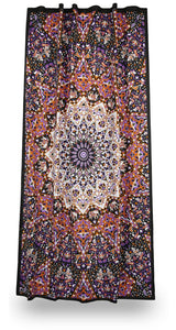 Curtains Glow in the Dark - India Star - Curtain 100017