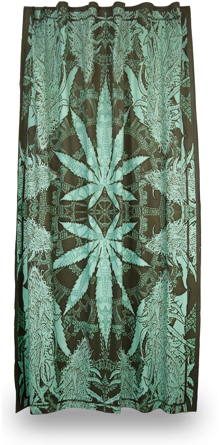 Curtains Hempest Marijuana Leaf - Curtain 009532