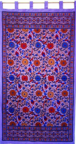 Curtains purple Sunflower - Purple - Curtain 006030