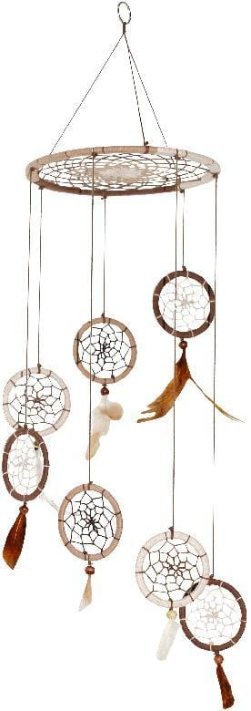 Dreamcatchers Natural Mobile - Dreamcatcher 008007