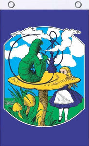 Flags Alice in Wonderland - Caterpillar Hookah - Flag 100043