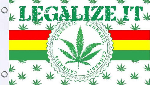 Flags Legalize It - Rasta - Flag 100397