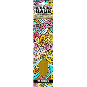 Incense Burning Rage - Peaceful Vanilla - Incense Sticks 100453