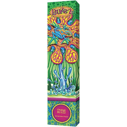 Incense Gonesh - Orange Buzzz - Incense Sticks 006300