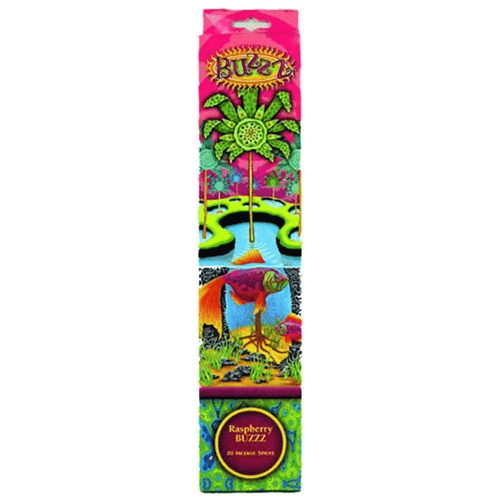 Incense Gonesh - Raspberry Buzzz - Incense Sticks 006301
