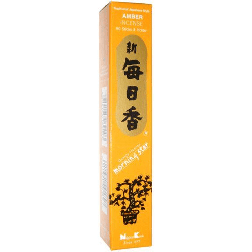 Incense Morning Star - Amber - Incense Sticks 100465