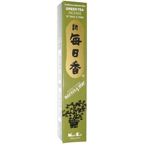 Incense Morning Star - Green Tea - Incense Sticks 100474