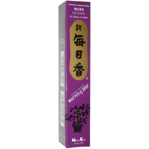 Incense Morning Star - Musk - Incense Sticks 100478